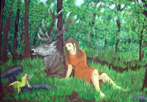 King of Elvenforest by TheAntlerGang