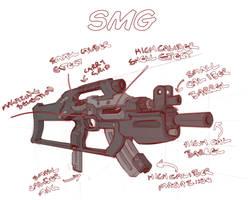 Sub Machine Gun Concept by Rancemeister