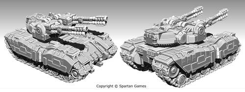 Terran Vallenfyre Tank Variant by Rancemeister