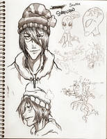Scottie sketchbook by GreenYeti