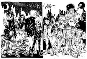 Black and White by GreenYeti