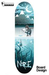 Norse Skateboards (Ice) by GreenYeti