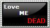Love Me Dead Stamp by Nautika