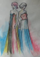 Miss Belgium and Miss Holland by Slapfohrhasen