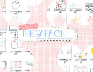 Cute Megapack (PNG only) by meromerowanko
