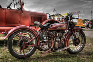 indian motorcycle by va-guy