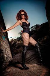 Siren of the Stone v.3a by Von Trapp Photo 2014 by VTphoto