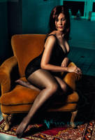 Lady On A Chair v.1 by Von Trapp Photography 2013  by VTphoto