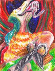 Scissors Friend by CountFangula