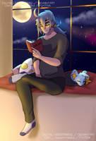 HL - Reading Corner by Digital-Nightmarre
