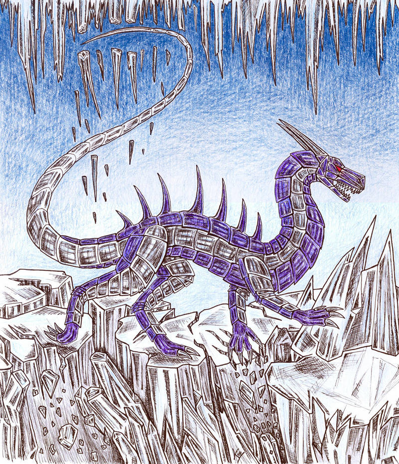Ice Breaker by MetalDragoness