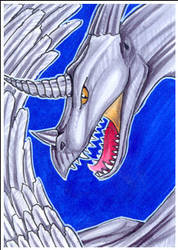 Dramida ACEO by MetalDragoness
