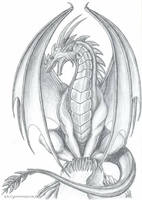 Ruth Thompson's Dragon by MetalDragoness