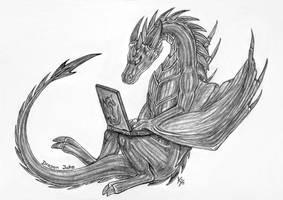 Dragon Jake by MetalDragoness