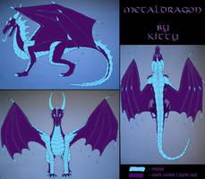 Metal Dragon 3D by MetalDragoness