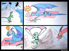 How did Dinos reach the air... by MetalDragoness
