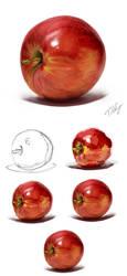 Apple Study (2013) by TiNoSa