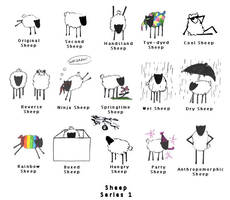 Sheep: Series 1 by ShadowKorin