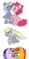 Not Another MLP Sketch Dump by Celestial-Rainstorm