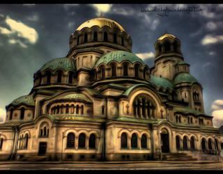 Bulgarian Building - HDR by ellysdoghouse