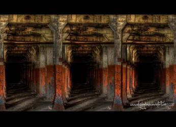 Hall - 3D Stereogram by ellysdoghouse