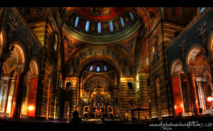 Cathedral Basilica Panorama by ellysdoghouse