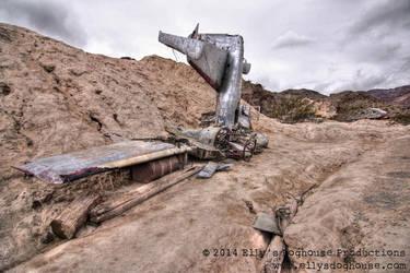 El Dorado Canyon Mine - Movie Plane by ellysdoghouse