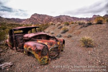El Dorado Canyon Mine - Old Car by ellysdoghouse