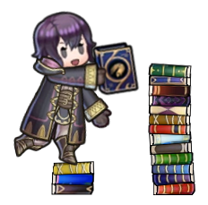 A Brisk Game of Tome Stackers by ProfessorShiro