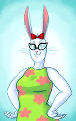 PPG Bunny Gal by BlitzingBullet