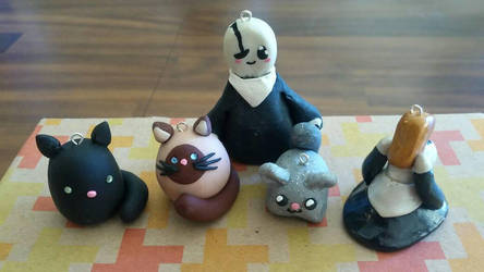 Clay Cuties by BlitzingBullet