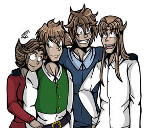 The Heretis Family by undeadfriend