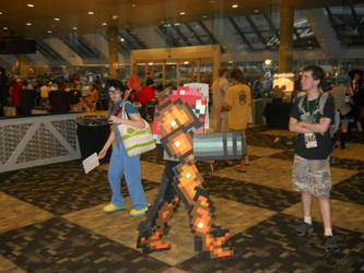 Samus in action Cosplay by ChozoBoy