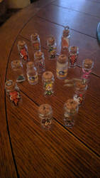 Zelda bottle charms by ChozoBoy