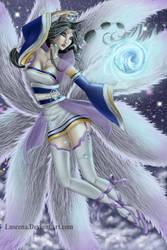 Celestial Ahri by Luscena