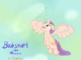Booksmart the Alicorn by Mara-Jeyd