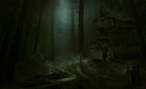 Through the wood. by TOTsamyiTIP