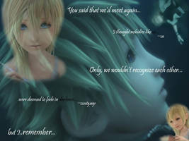 Roxas and Namine by TwilightKeybearer