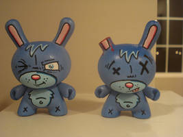 3 inch dunnys Bubbles Bunny by DFed