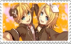 Stamp: The Doll Twins by R-O-K-U-S-H-I