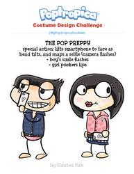 Poptropica: The Pop Preppy by SlantedFish