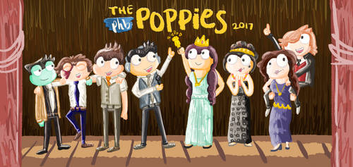 Poptropica: Poppies Awards 2017 by SlantedFish