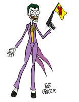Batman: The Joker by rickytherockstar