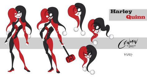 Catwoman: The Animated Series Harley Quinn by rickytherockstar