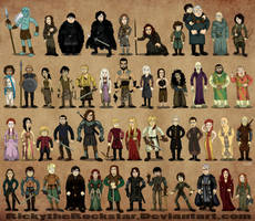 Game Of Thones by rickytherockstar