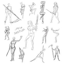 Gesture study by Nolicedul