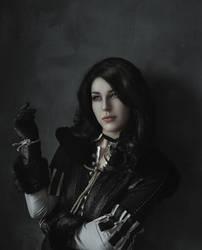 Yennefer of Vengerberg by ElysianRebel