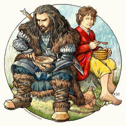 Dinner with Thorin by Rinter