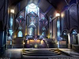 Fantasy hotel lobby by as07