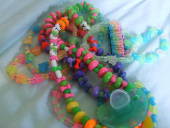 Kandi Collection 2-17-08 by Raving-Lunatic92